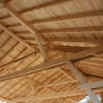Halle mit Satteldach - Zimmermannsmäßig